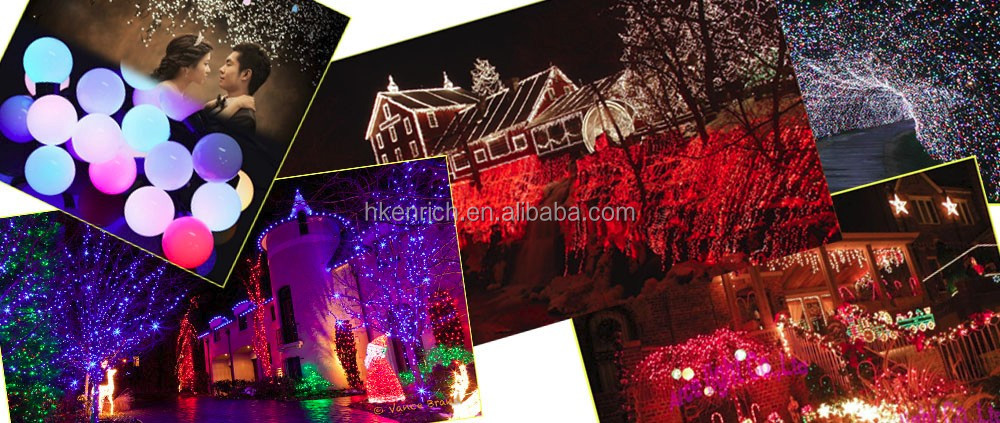 40mm Big Ball LED String for Christmas Decoration