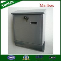 Australia Letter Container steel powder coating postbox with torans