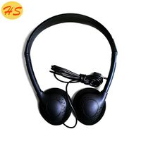 China supplier best selling product 2017 plastic moulding aircraft disposable headphone