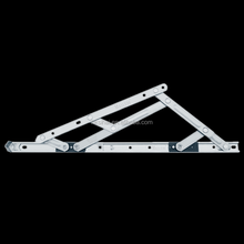 Supply 22mm square groove stainless steel friction hinge for Aluminium top hung window