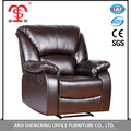 Modern design furniture living room leather recliner sofa for promotion