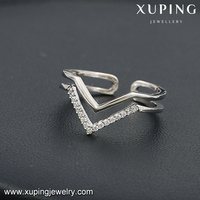 13789 XUPING fashion diamond ring sample jewelry,engagement ring for women