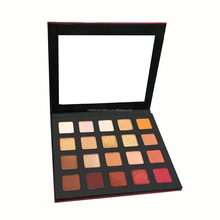 private label cosmetics 20 colors bright sparkly metallic eyeshadow