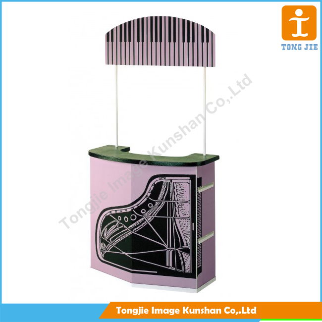 Portable promo table counter wholesale