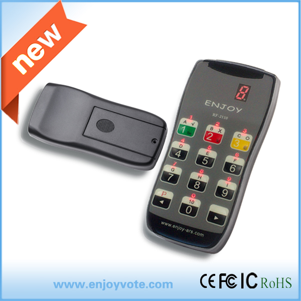 Interactive Voting Keypads RF2110 for event, game and conference