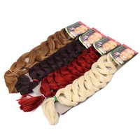 165g 82inch synthetic hair pression braiding hair jumbo braids expression hair extensions