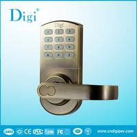 Digi keypad lock; new electronic code door lock; ANSI code lock
