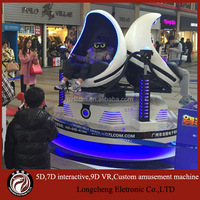 Chinese New Year holiday hottest amusement equipment Virtual Reality 9D Cinema Type 9d