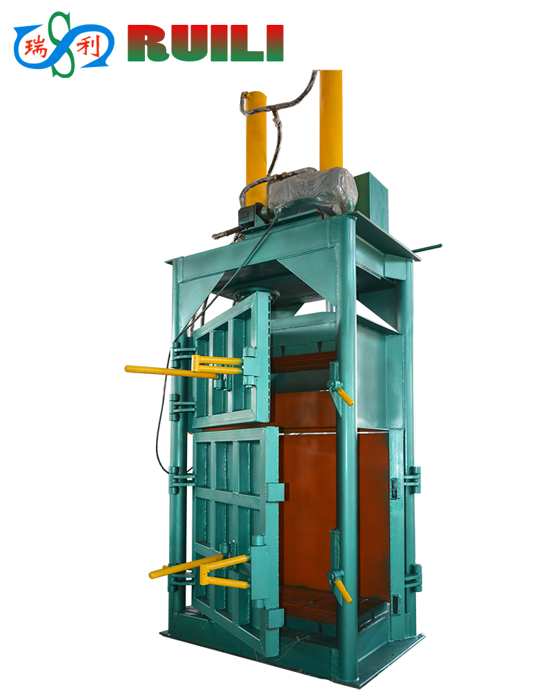 Scrap paper press machine /plastic baler/balering machine