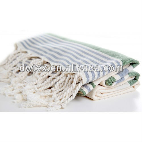 100% Organic Cotton 70*180cm+Fringes Beach Towel