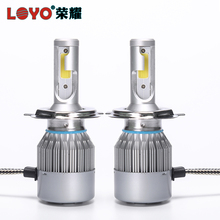 Diecast Aluminum Housing hydraulic fan led headlight bulb motorcycles for sale