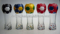 Beer Cup Glass with football shape