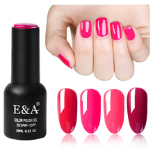 EA Brand high quality 3 steps soak off gel polish new nails gel uv gel polish