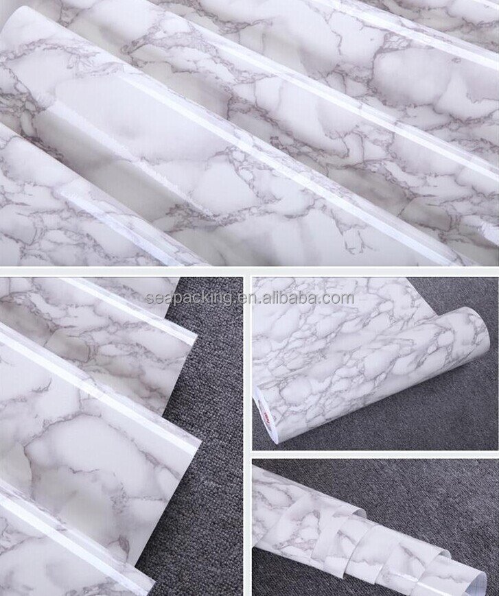 2016 new style pvc wall paper marble brick wall paper /beautiful design self adhesive wallpaper