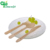 Best disposable wooden chip fork spoons handle knife cutlery set for sale