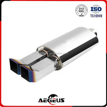 Stainless Steel motorcycle exhaust Bend Slant Tip high performance exhaust system part Exhaust Muffler
