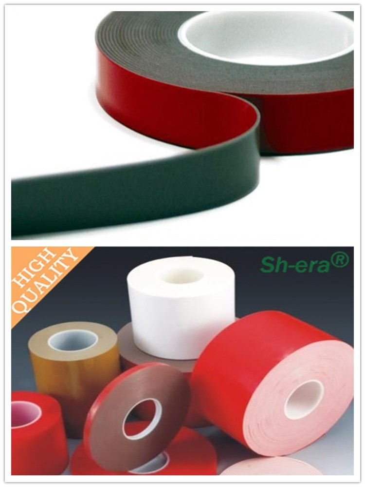 China manufacturer wholesale insulation acrylic foam adhesive double sided tape