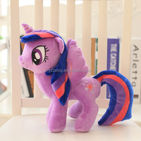 Carton purple toy pony horse