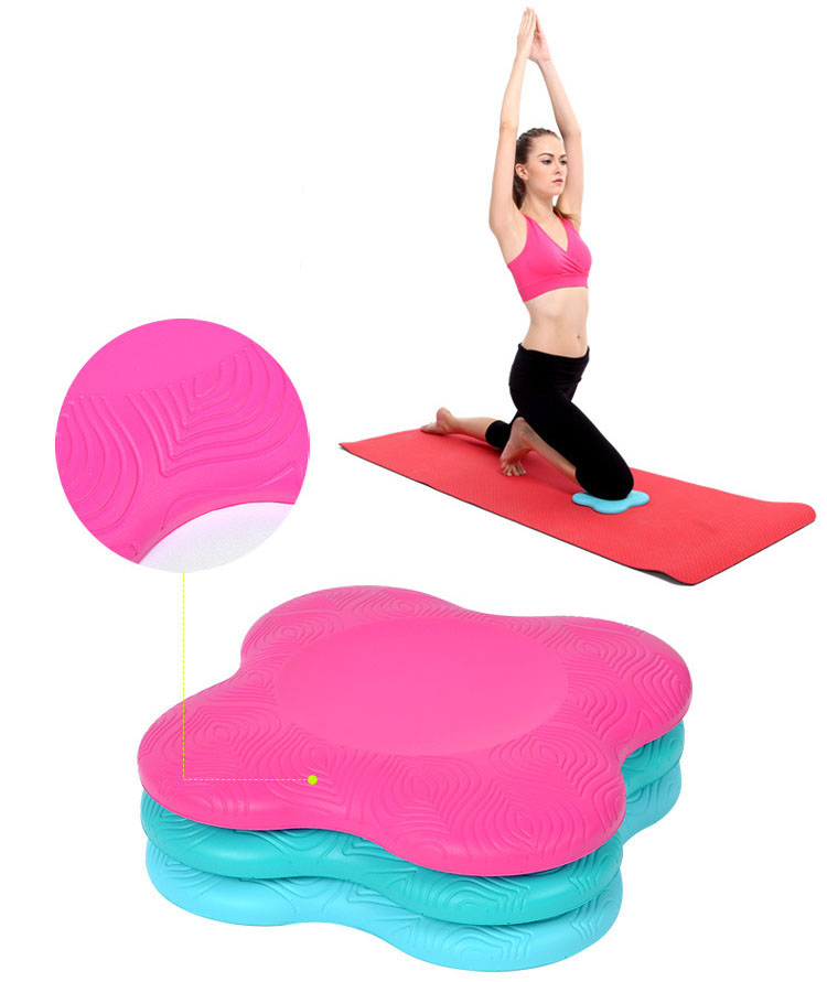 Gym home yoga fitness assistant tool anti slip Yoga knee mat