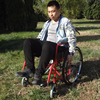 Patient transfer sport manual wheelchair stand up for disabled people