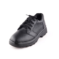 High quality genuine leather steel toe men working shoes with laces
