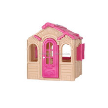 Amusement toy children entertainment equipment furniture plastic playhouse kids princess playhouses for sale