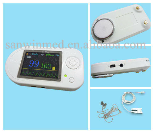 Color LCD Visual Digital Stethoscope with bluetooth