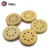 P120 125mm car polishing Round Paper sand Disc  with hook and loop