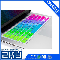 Custom keyboard protector silicone laptop keyboard cover skin for macbook pro keyboard cover