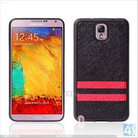 Stylish TPU lagging kid proof Bumper phone Back Cover Case for Samsung Galaxy Note 3 N9000(black)