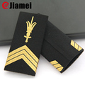OEM/ODM factory make military uniform pvc army epaulettes custom