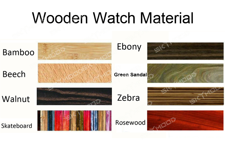Wholesale Fashion Bamboo Men Custom Logo We Wood Wrist Watch Cheap Handmade Leather Strap And 2020 Women Wooden Watches
