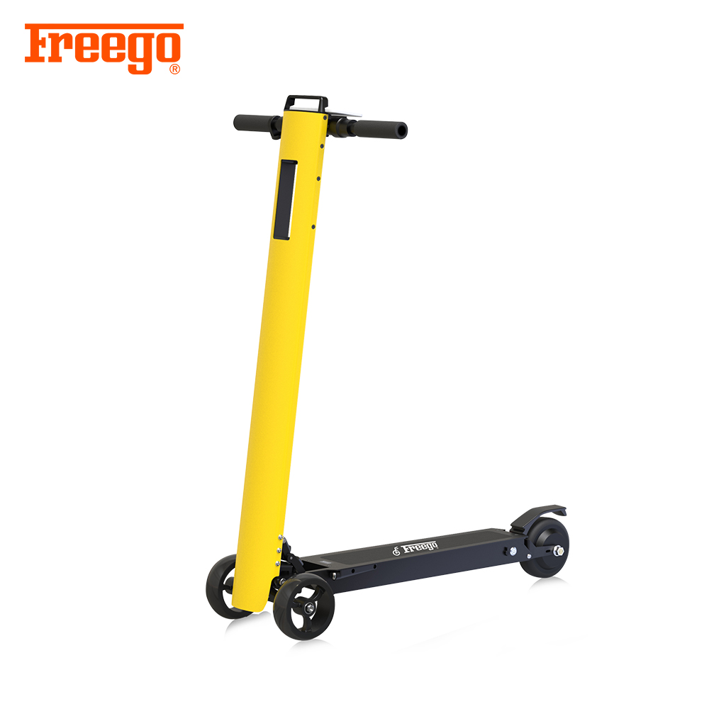 2018 Freego new design three wheels standing up powered <strong>electric</strong> kick scooter