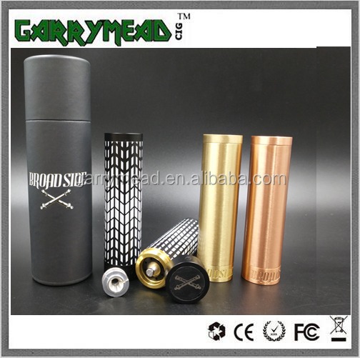 New Broadside Admiral 20700 Mech Mod/Gani Mod/Totem mod Broadside Admiral Mod can fit 18650/20700 battery Broadside mod