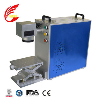 Portable small size mini fiber laser marking machine for metal jewelry stainless steel