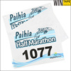 Custom Outdoor Running Cycling Marathon Race Original Printable Tyvek Bib Numbers