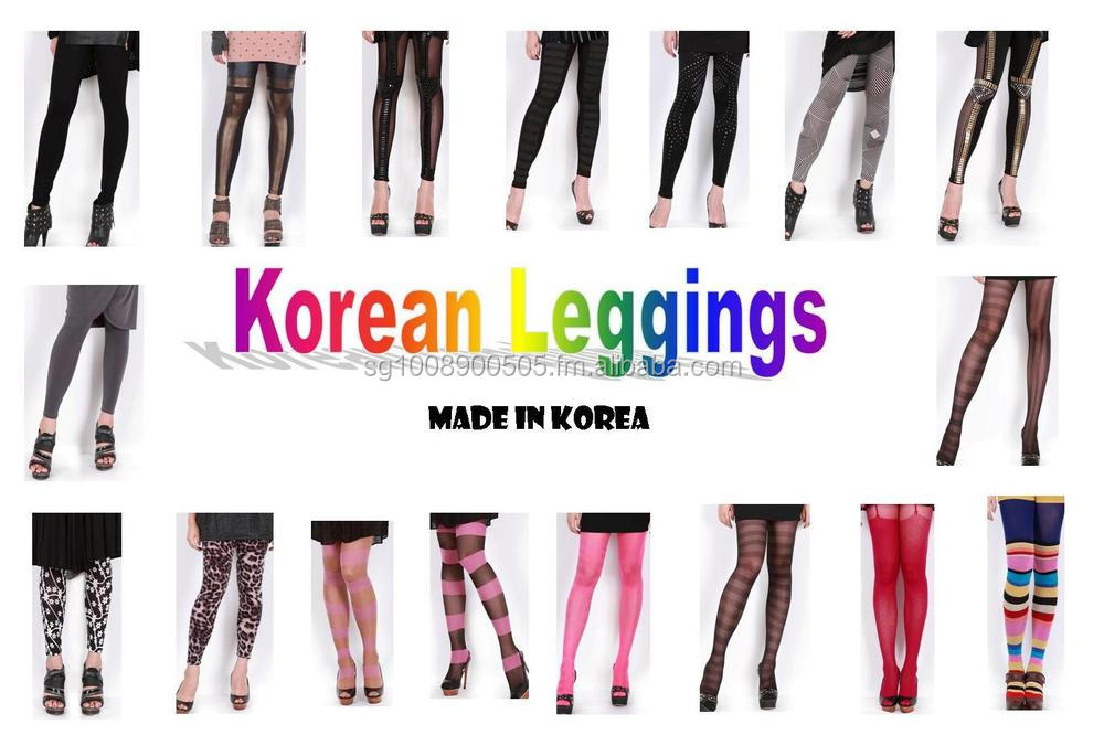 Korean Woman Leggings