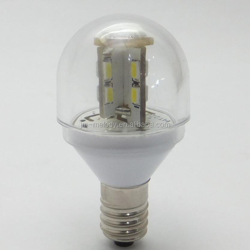 T25 1.5W E10 E12 E14 LED fridge Bulb lamp LED Freezer bulb Light LED refrigerator bulb Lamp 12V 24V 36V 48V 60V 110V 120V 220V