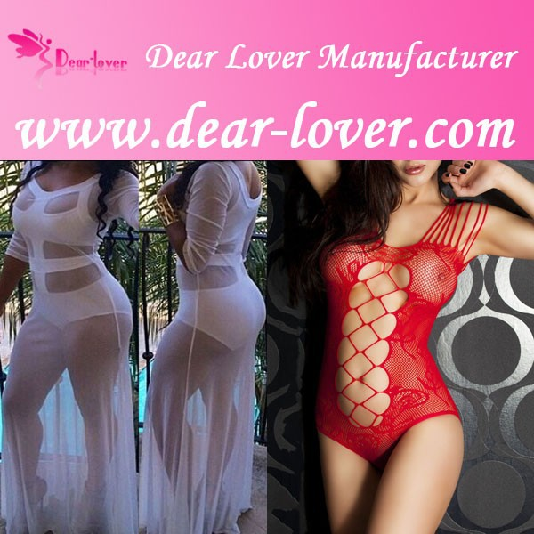 Top quality wholesale see through white sexy lingerie for fat women