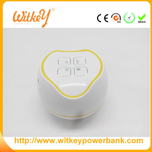 2016 Plastic Portable Speaker Mini Bluetooth Speaker