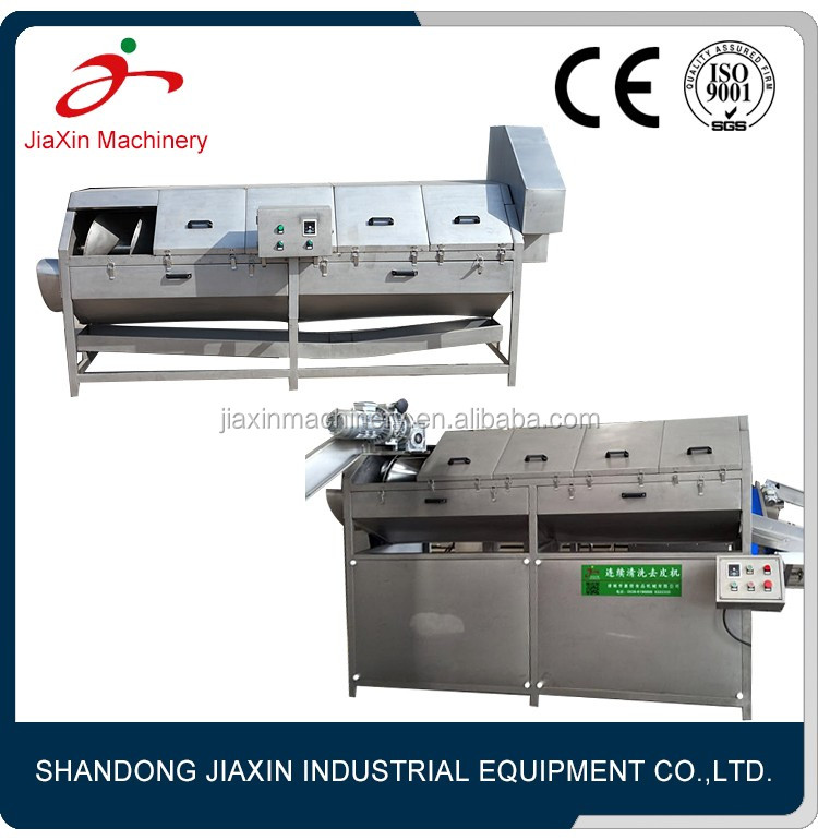 Peeling machine garlic cleaning processing