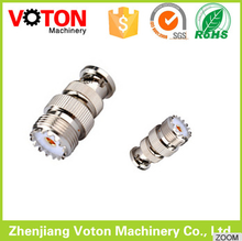 top quality BNC Plug male to UHF SO-239 female Jack straight RF Coax connector Adapter