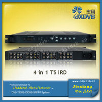 JX broadcast digital satellite tv receiver for decoding