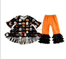Latest New Baby Pumpkin Clothing Sets Charming Kids Halloween Outfits For kids