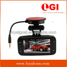 "Factory Ambarella GS8000 140 degree 2.7""inch LCD GPS Digital Front 1080P Full hd loop recording car dash camera"