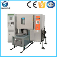 Electronic power controller environmental and vibration test chamber