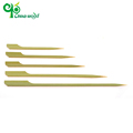 Wholesale mini bamboo food Teppo Gushi-gun skewers