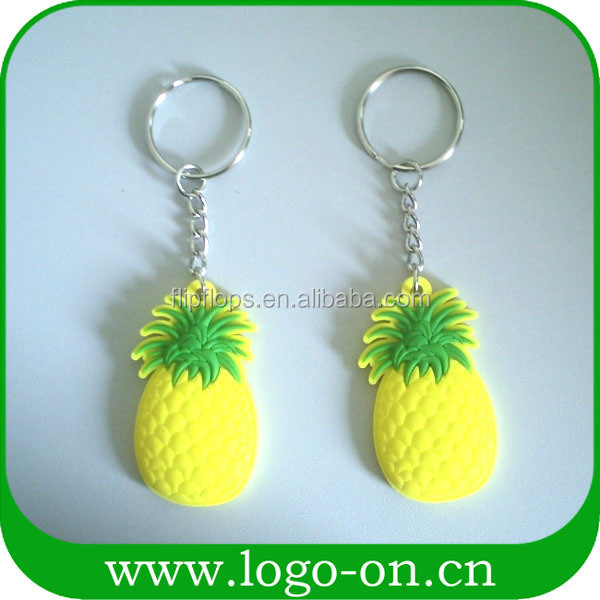 Wholesale promotion souvenir custom 3d soft pvc keychain