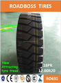 Heavy truck tires all steel tire ROADBOSS 12.00R20 RO631 Pattern with radial construction