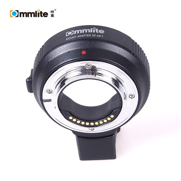 Commlite Electronic Aperture Control Adapter for Canon EOS EF Lens to Micro 4/3 MFT Camera for Olympus Panosonic